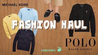 패션하울 | 폴로 니트 | 마이클코어스 뮬 | 폴로 코…
