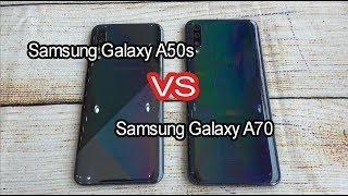 Samsung Galaxy A50s vs Samsung Galaxy A70 | SpeedTest and camera comparison
