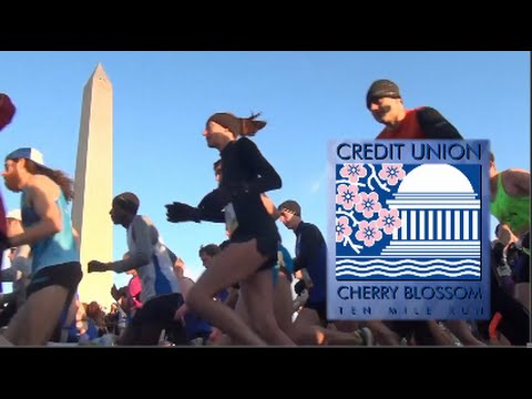 2016 Credit Union Cherry Blossom Ten Mile Run from RUNNING National broadcast seriessmond