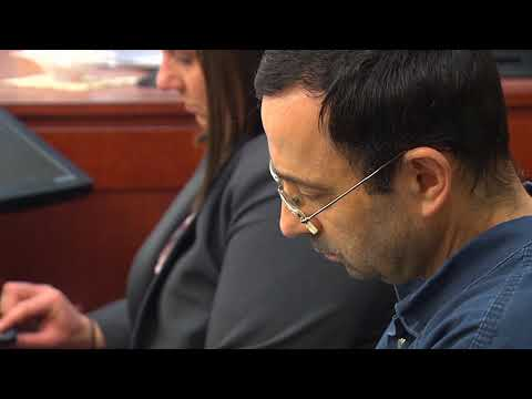 Larry Nassar's colleague expresses remorse during sentencing