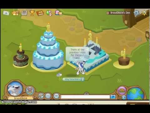 Animal Jam Animal Jam Birthday Cake Tricks Youtube