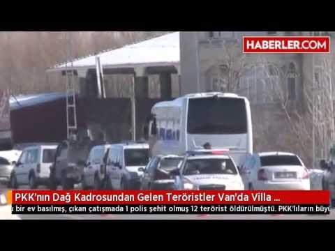 PKK'nın Dağ Kadrosundan Gelen Teröristler Van'da Villa Kiralamış