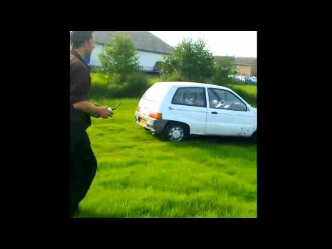 Remote control car full size rc stunt auto 1:1 Wijnakker CarCasting.tv