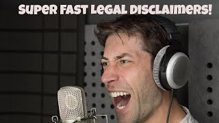 I Love Legal Disclaimers - Voice Acting - Joe Zieja