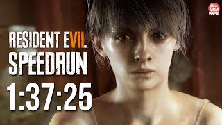 RESIDENT EVIL 7 - Any% SPEEDRUN - 1:37:25 | Console/PS4