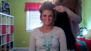 Prospect High School Mixed Company Hair Tutorial 2014