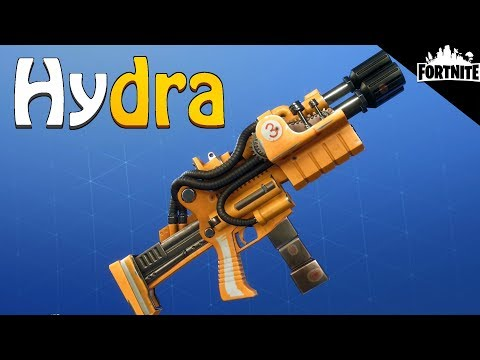 FORTNITE - Hydra Perks And Gameplay (Best Mutant Storm Event Weapon)