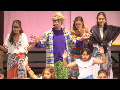 Singapore School Manila Musical Once on this Island Jr.  The Island Girls Story