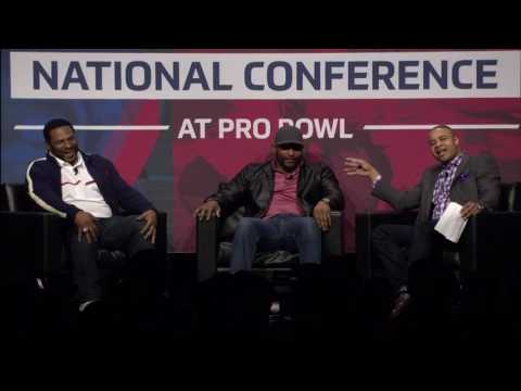 Jerome Bettis/Ray Lewis Q&A