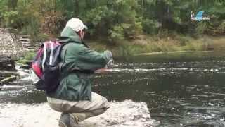 Рыбалка на реке Керженце (д. Гавриловка).