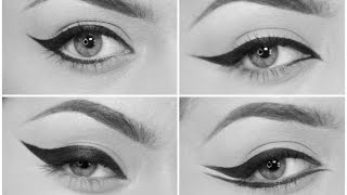 4 different eyeliner styles