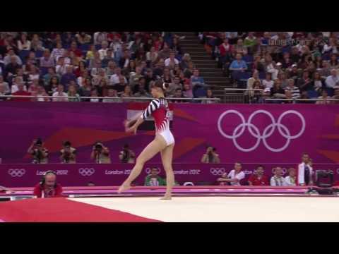 Rie Tanaka 2012 Olympics QF FX