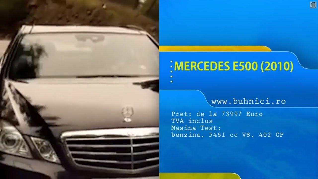 Mercedes E500 2011 (www.buhnici.ro)