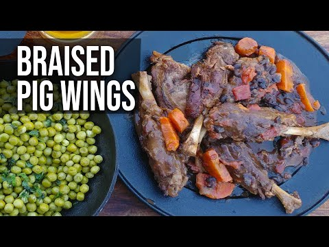 Hog and Pig Wings your choice by the BBQ Pit Boys