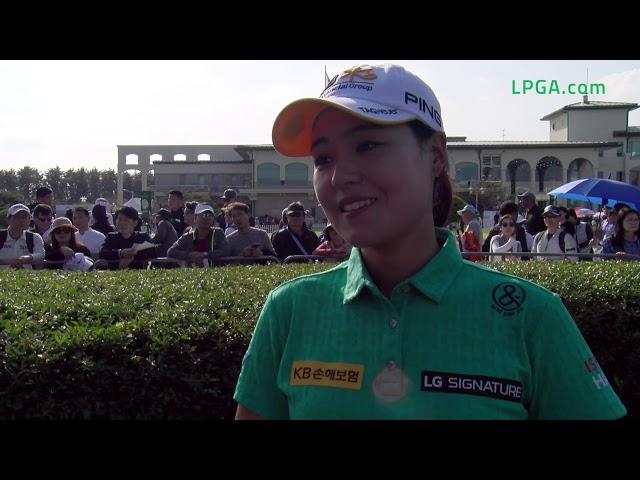 In Gee Chun Talks Third Round 67 at 2019 BMW Ladies Championship
