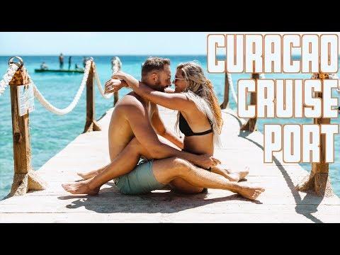 CURACAO CRUISE PORT | OLD TOWN WILLEMSTAD CURACAO | KOKOMO BEACH