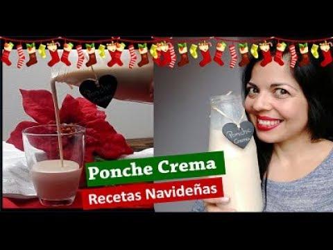 Delicioso Ponche Crema venezolano SIN FLAN RECETA FACIL