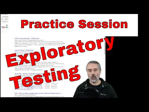Software Exploratory Testing Practice Session - HTML Button Game