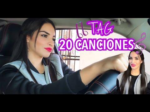 TAG DE LAS 20 CANCIONES / Kimberly Loaiza