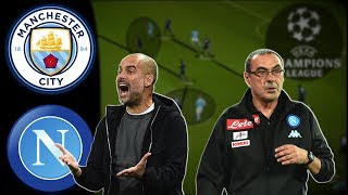 First Time Guardiola and Sarri Met | Tactical Analysis