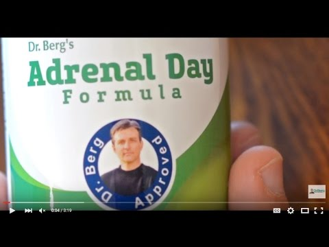 Dr. Berg's Adrenal Day Formula: How To Use It