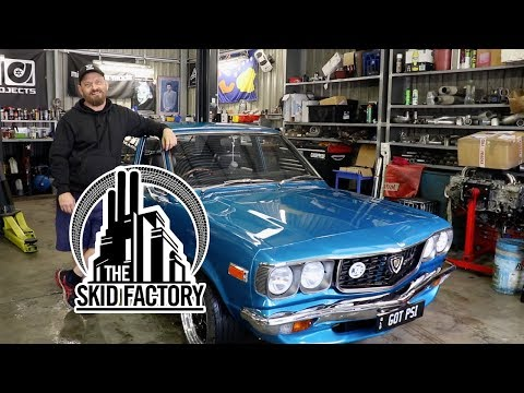 THE SKID FACTORY – 1973 Mazda RX3 [Build Review]