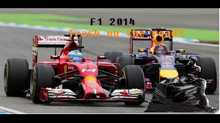 F1 2014 - Trash on the road