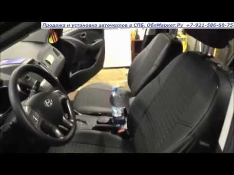 Установка авточехлов на Hyundai IX 35