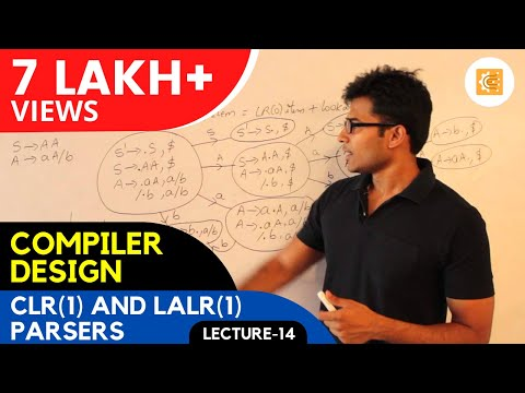 Compiler Design Lecture 14 -- CLR(1) and LALR(1) Parsers
