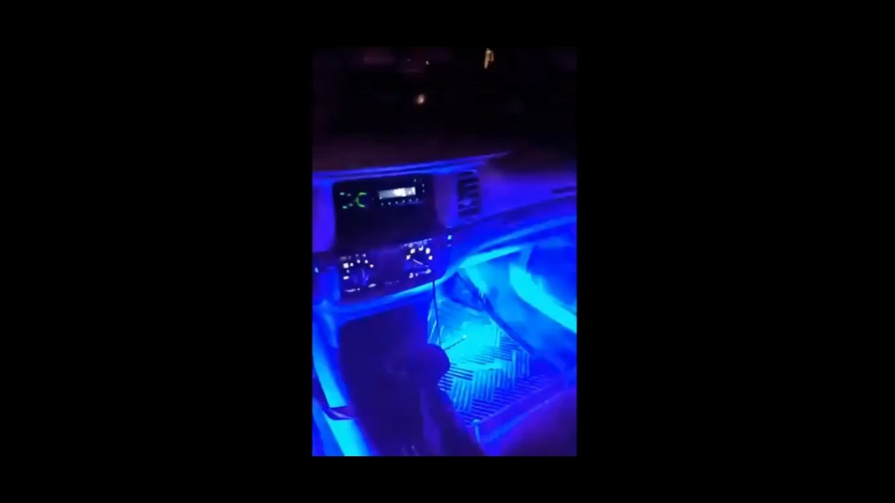 Ledglow 4 Piece 7 Color Led Interior Underdash Lighting Kit In 2003 Chevy Impala