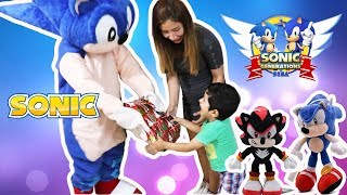 child and  Sonic the Hedgehog 2020 - The Live Action Film