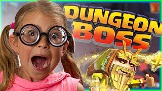 dungeon boss crazy girl dungeon boss gameplay