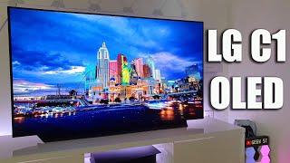 NEW 2021 LG C1 OLED Unboxing a…