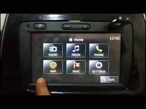 Updating The Original Maps & Firmware On Your Media Nav - KWID,Duster,Lodgy,Climber