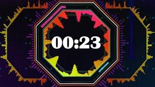 Countdown Timer 60 sec ( v 513 ) nr 3 Equalizer  - Music Sound Visualizer - effects hd 4k