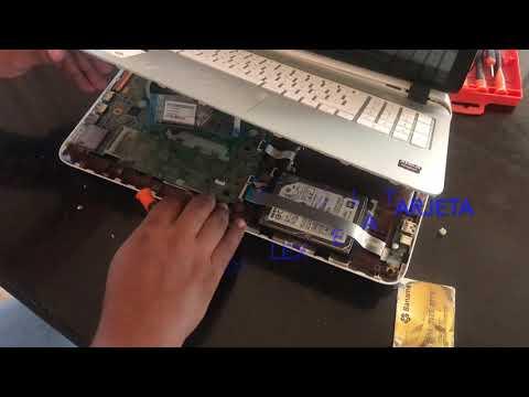 Cambiar bisagras de HP 15 P004LA -Touch