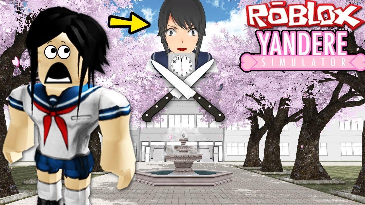 Yandere Life Simulator Roblox Yandere Simulator Yandere High School Yandere Chan Yandere Game Youtube