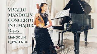 Vivaldi Mandolin Concerto in C Major, RV 425