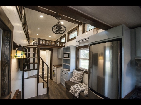Luxury Tiny House Leaves Little To Be Desired Youtube
