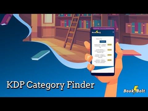 Find The Right KDP Category For Your Books - KDP Category Finder