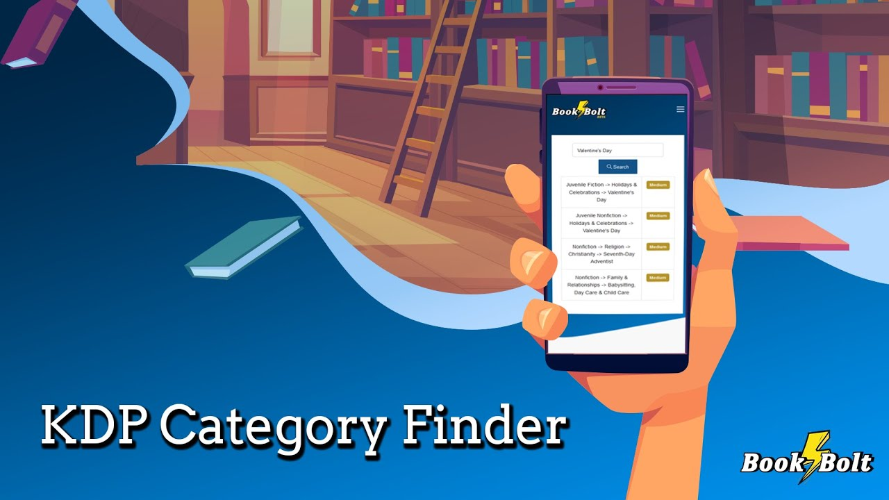 Find The Right Kdp Category For Your Books Kdp Category Finder Youtube