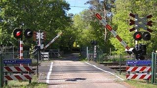 Spoorwegovergang Hulshorst // Dutch railroad crossing
