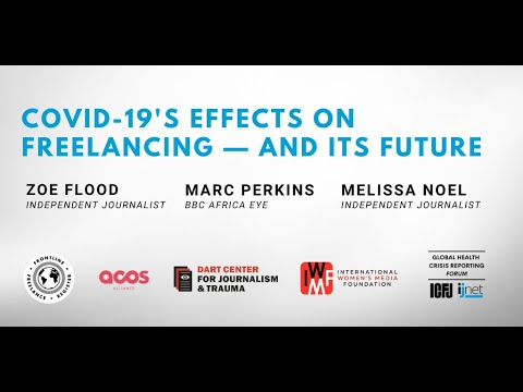 Webinar 34: COVID-19's Effects On Freelancing — And Its Future