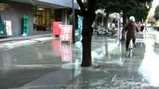 ■東北・太平洋沿岸地震 液状化や噴砂の様子その6(千葉県浦安市) thumbnail