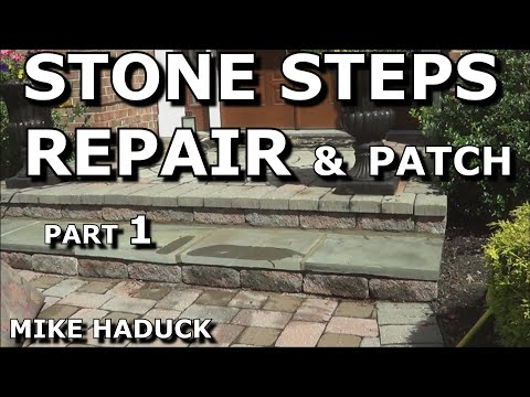 Stone Steps Repair Patch Part 1