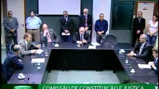 Comissão de Constituição e Justiça realiza reunião extraordinária nesta manhã (29)