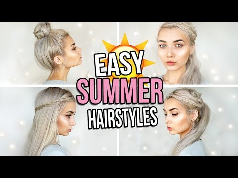 CUTE & EASY BRAIDED SUMMER HAIRSTYLES