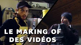 TAKEN La série : making of des vidéos Sup3rKonar et The Fantastiques feat Jimmyfaitl