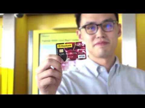 Maybank Express Debit Card Replacement Kiosk