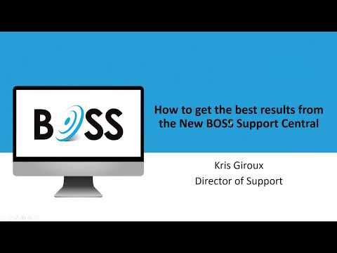 BOSS Solutions, IT Service Management Webinars